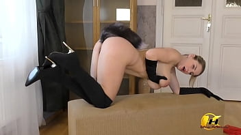 My First time with FoxyTail and Spanking - Katerina Hartlova
