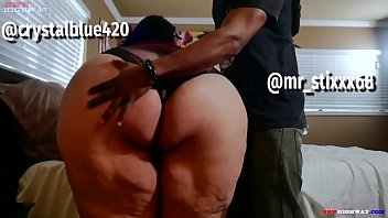 Asian Latina Ssbbw Crystal Blue With A Huge Ass Gets Big Black Cock From Her Friend