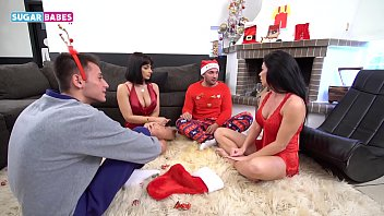 SUGARBABESTV: Greek anal foursome with Inna Innaki and Rosa Rozita