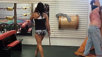 Mikaela's Most Extreme Punishment - Worthless Alive Target for Fighter's Whip