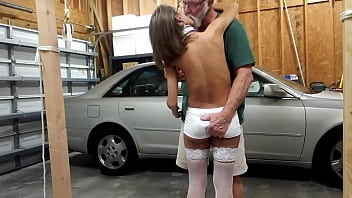 dee silver white dsw milf anal rough white lace high heels flogged fucked min