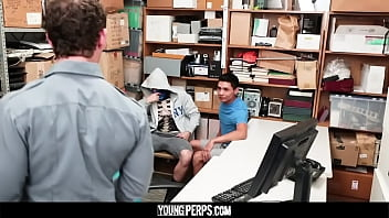 YoungPerps - Masked Perp gets fucked raw in tag team