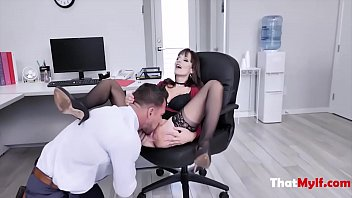 Boss MILF Fucks Incompetent Employee- Lexi Luna