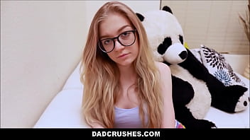 Young Nerdy Step Daughter Jadyn Hayes Sex With Step Dad For Not Telling Mom About Getting Suspended From School 8 min