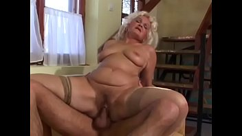 Horny mature dances Ernone to deduce this young dude to fuck her