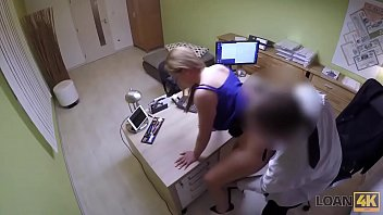 LOAN4K. Inexperienced chick passes sex casting in credit agency thumbnail