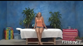 Watch this sexy 18 year old girl slut get fucked hard by her massagist