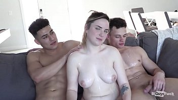 Mexican Teen Enjoys some American Love! Big Tits AND Uncut Cock!