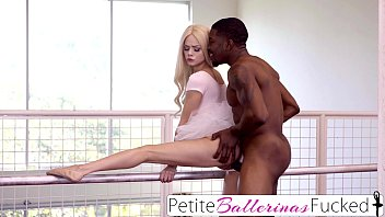 PetiteBallerinasFucked- Tiny Elsa Jean Interracial BBC Fuck