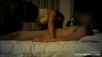 SEXY ASIAN WHORE SUCKS COCK AND FUCKS IN A HOTEL