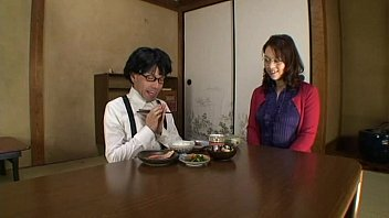 Japanese Maid Helps His Retarded Master To Release His Cum Into Her Mouth