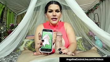 Cuban BBW Angelina Castro Sucks A Stranger'_s Cock To Get Cum