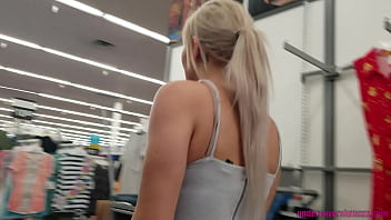 Public Flashing Dare With My Teen Daughter 10 min