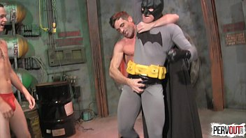 Gay superhero porn buttman - Batman vs the gogo boys superhero domination