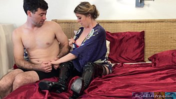 Stepmom fucks stepson after husband dies - Erin Electra