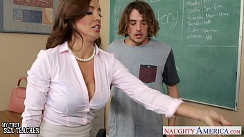 Big titted teacher fucked hard Naughty sex teacher francesca le fucking