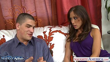 Naughty nude milf neighbor - Busty brunette babe capri cavanni fucking her neighbor