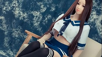 Japanese schoolgirl sex doll for anal and deepthroat