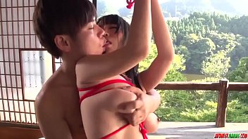 Rina Mayuzumi In Sweet Bondage With A Y. Male - More At Japanesemamas Com