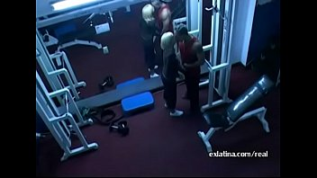 Hidden Camera Films Old Guy Fucking Young Latina In Gym