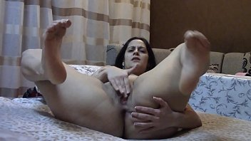 Closeup Masturbation with Arched Feet