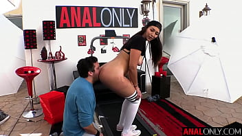 ANAL ONLY Big booty Electra Rayne's shocking anal