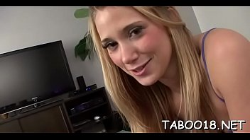 Delectable barely legal Shelby Paige gets wang instead of dildo