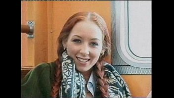 Red Head On Train