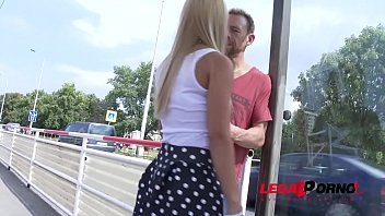 Nikky Thorne fucked in public and then taken to studio for some hot DP, DAP