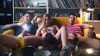 SWINGERS SWAPED GIRLFRIENDS WHILE WATCHING SOCCER IN SPAIN!