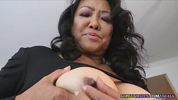 the asian grandmother loves to masturbate