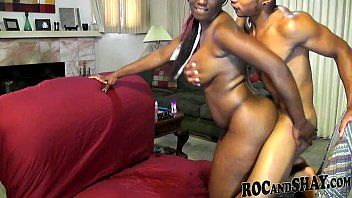 Amateur In Love Having Fun On Couch thumbnail