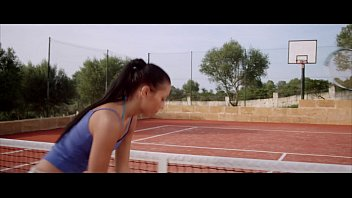 Lesbian Lust On The Tennis Court