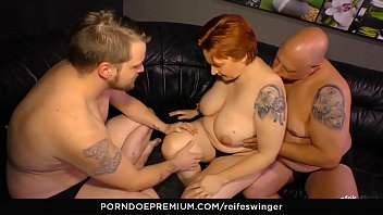 Mmf fuck video free - Reife swinger - chunky german mature lady in hardcore mmf threesome