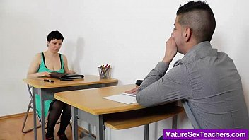 Mature gives handjobs Mamma teacher giving a handjob