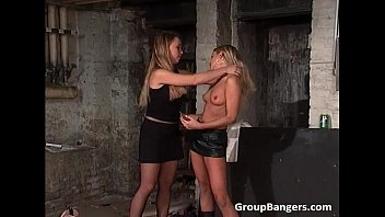 Amazing group sex party involving