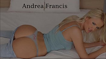Blonde Andrea Francis Nice Blowjob and Anal Creampie