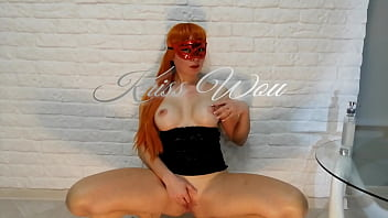 Russian Girl With Big Tits And Nipples Masturbation Wet Pussy. Squirt. Kriss Wou