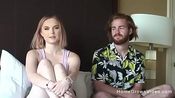 Real amateur couple couldnt wait to make a porno 10 min