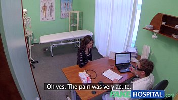Fake Hospital Sexual treatment turns gorgeous busty patient moans of pain into p 12 min