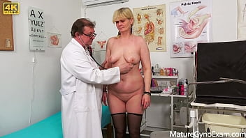 Old pussy gyno exam of shy granny