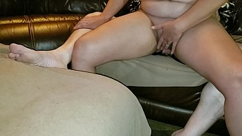 BBW wife sits on my dick and squirts hard!