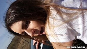 Very skinny but hot and nice street prostitute fucked cheap