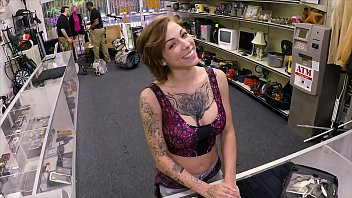 Bits tits white girls - Xxx pawn - tattooed babe harlow harrison gives pawnshop owner a hard time