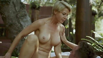 MILF Step Mom with Natural Tits Fucks her Son