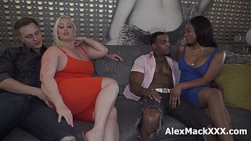 Interracial couple swap turned into a hardcore foursome thumbnail
