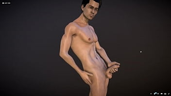 """Naked man 3D model with genitalia <span class=""""duration"""">26 sec</span>"""