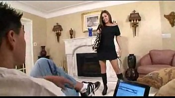 Sexy Young Girl Seduces Her Step Dad