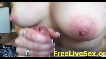 Slow handjob video Topless slow motion wife handjob