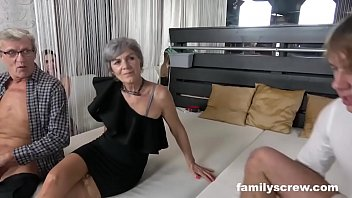 New swinger vids Swinger family cums by the club
